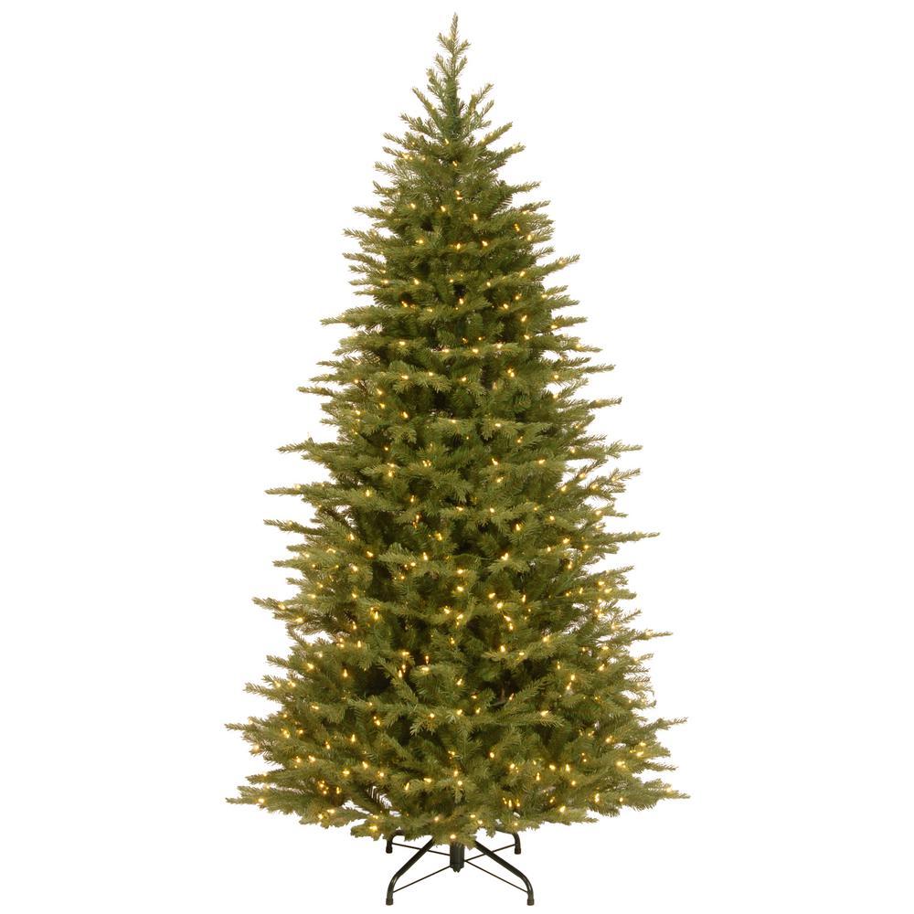 National Tree Company 7-1/2 ft. Feel Real Nordic Spruce Medium ...
