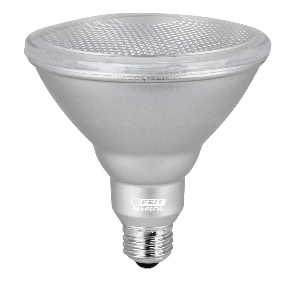 Feit Electric 90W Equivalent Warm White (3000K) PAR38 Dimmable LED ...