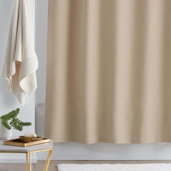 72 in. Linen Shower Curtain