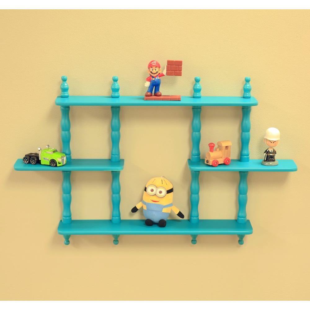 27 in. D x 17-1/7 in. W Wall Mounted Decorative Shelf