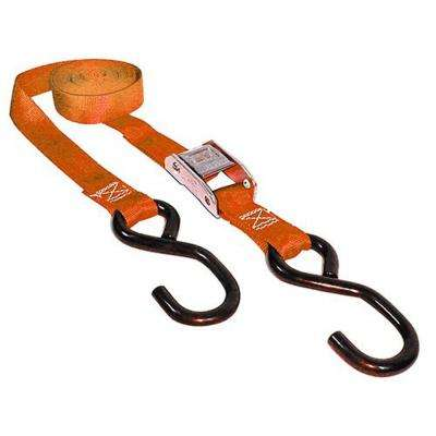 1 in. x 10 ft. x 400 lbs. Cam Buckle Tie Down