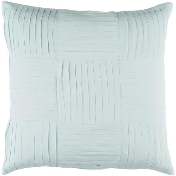 Albemarle Green Geometric Polyester 22 in. x 22 in. Throw Pillow