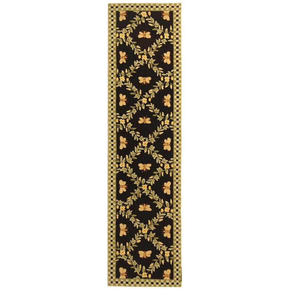 Chelsea Black 2 ft. 6 in. x 10 ft. Runner