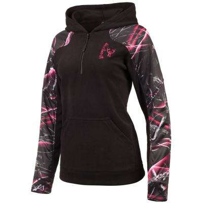 Huntworth Women's Small Black / Moxie Hooded Pullover