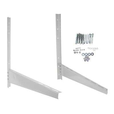 Steel Support Mounting Bracket for Ductless Mini-Split Condenser