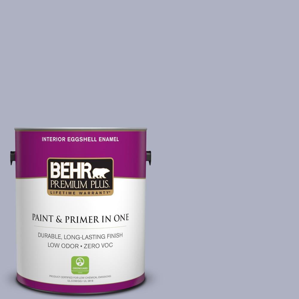BEHR Premium Plus 1 gal. #S550-3 Chivalrous Eggshell Enamel Zero VOC Interior Paint and Primer in One