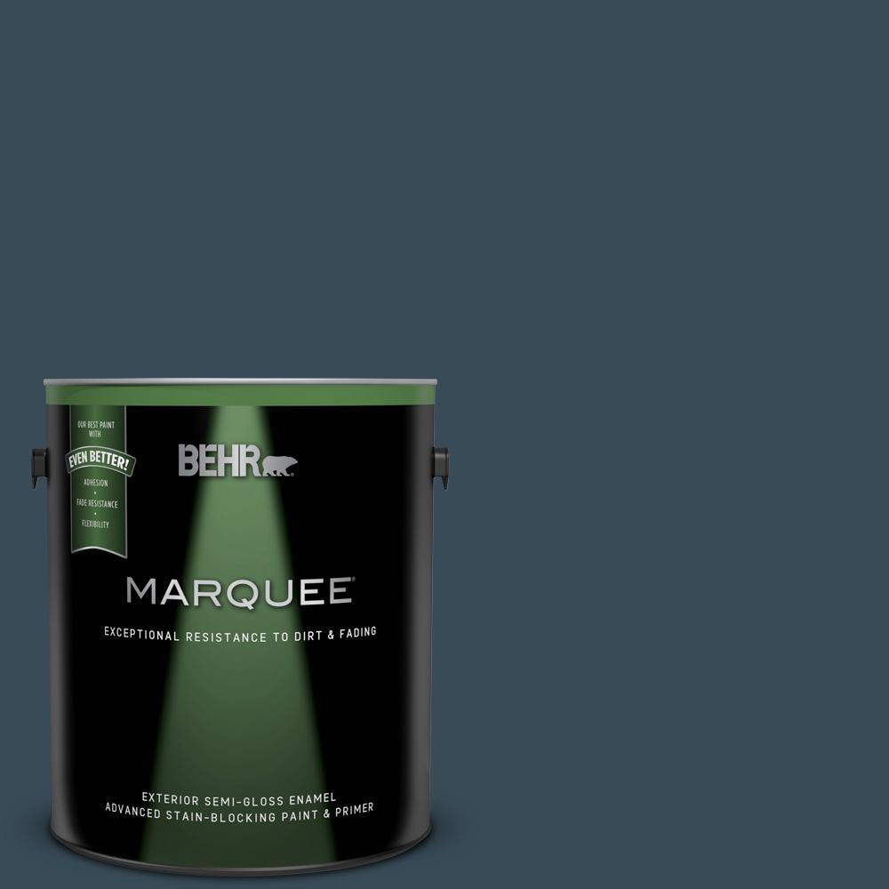 Behr Marquee 1 Gal Home Decorators Collection Hdc Cl 28 Nocturne Blue