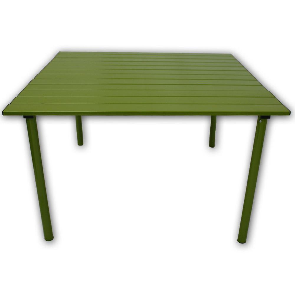Tiab Table In A Bag Green Aluminum Folding Outdoor Picnic