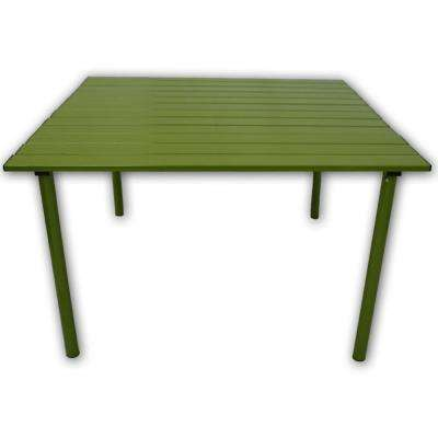 Table in a Bag Green Aluminum Folding Outdoor Picnic Table