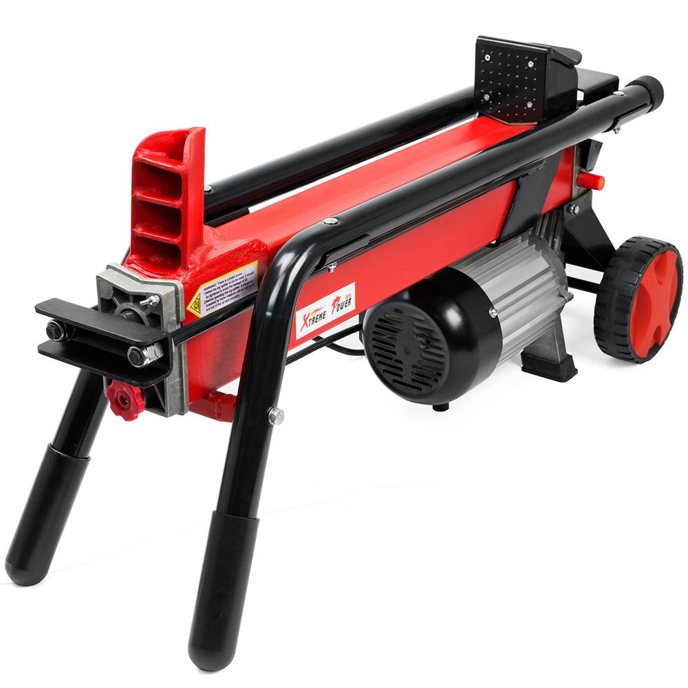 XtremepowerUS 7-Ton 15 Amp Electric Horizontal Log Splitter