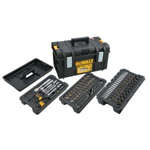 Deals on DEWALT Mechanics Tool Set 226-Piece w/ToughSystem 22 in. Tool Box