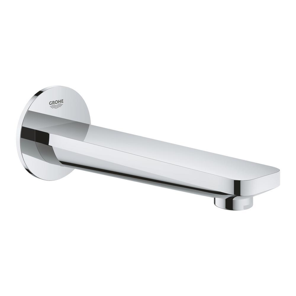 Lineare Wall Mount Tub Spout Trim Kit in StarLight Chrome (Valve