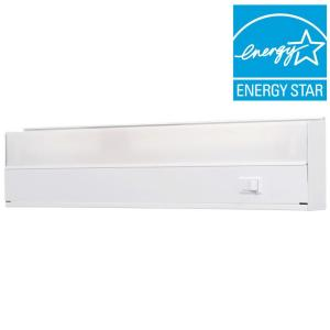 GE White 18 inch Fluorescent Light Fixture by GE