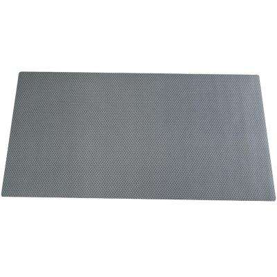 22.5 in. x 85 in. Diamond Plate Tool Box Liner, Gray