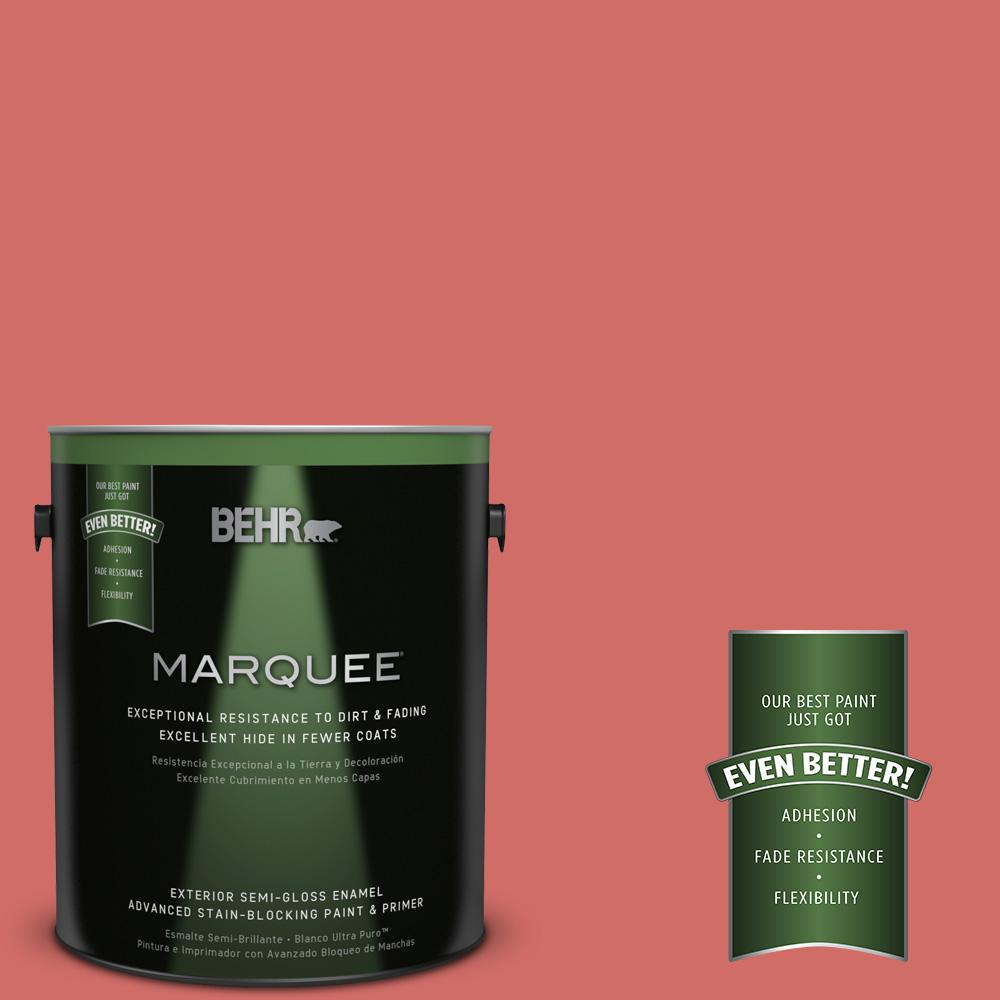 BEHR MARQUEE 1-gal. #M160-6 Matador's Cape Semi-Gloss Enamel Exterior Paint