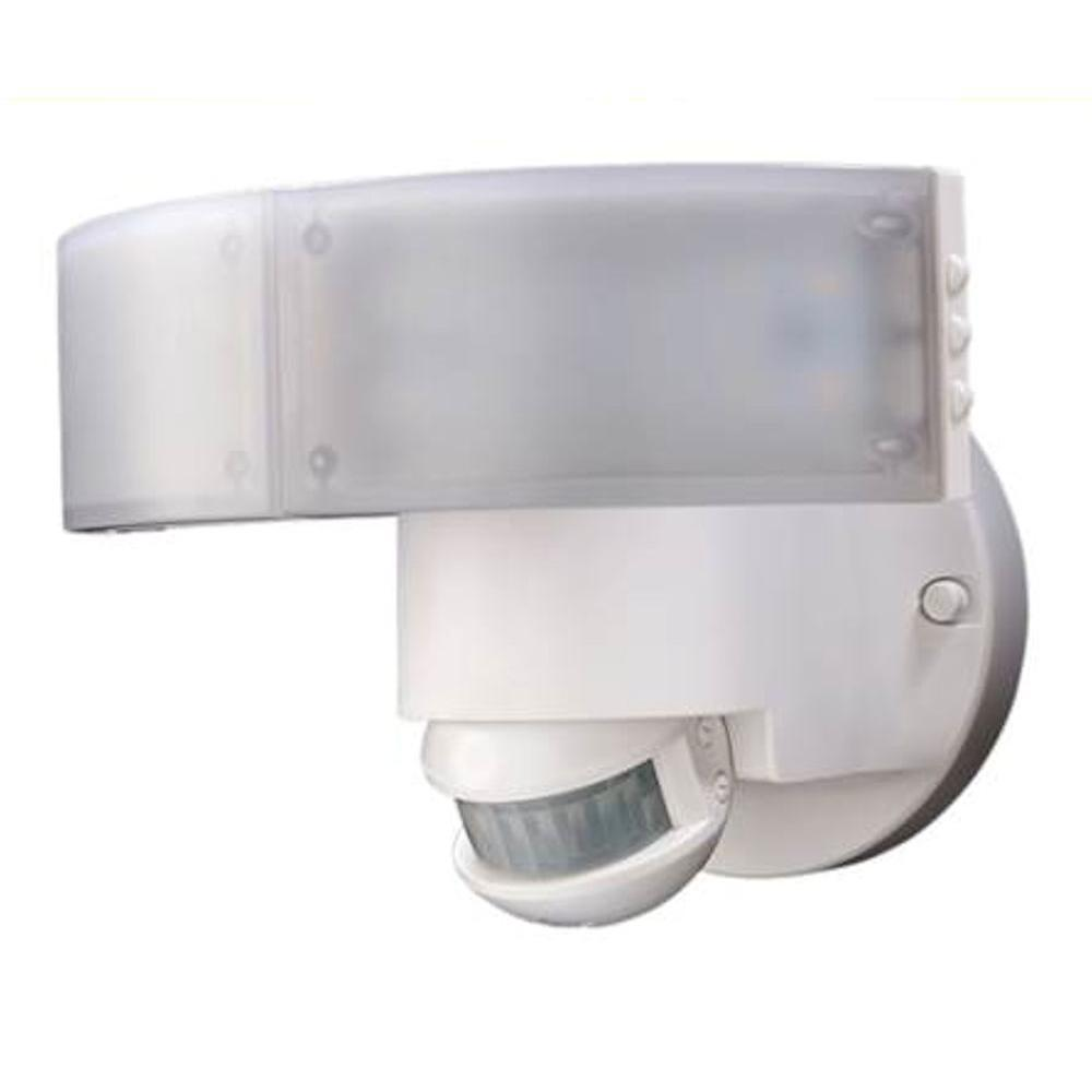 Outdoor security lighting outdoor lighting the home depot 180 degree white led motion outdoor security light aloadofball Image collections