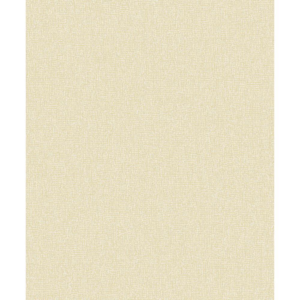 Adalynn Light Yellow Texture Wallpaper Sample