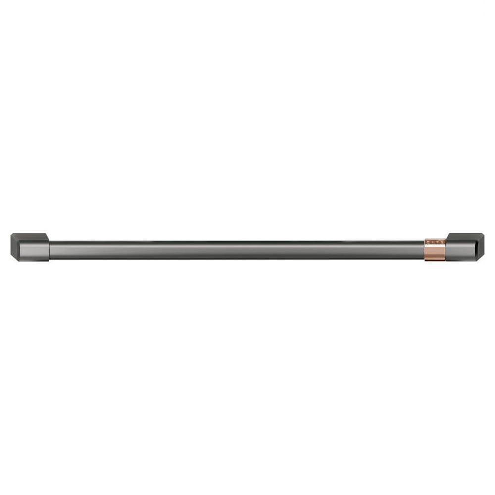 30 in. Wall Oven Handle in Brushed Black