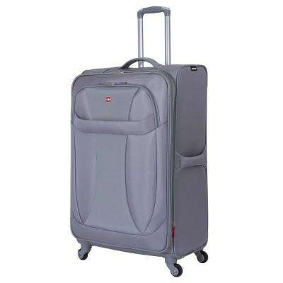 29 in. Lightweight Spinner Suitcase in Grey