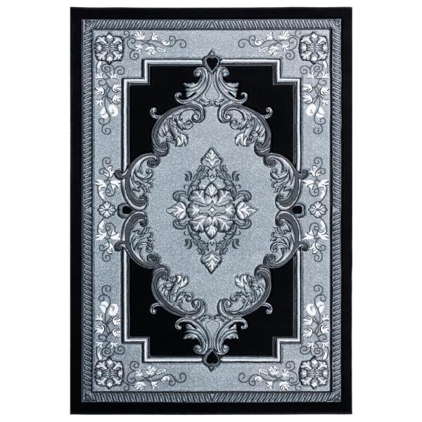 United Weavers Bristol Fallon Silver 2 Ft 7 In X 7 Ft 4 In Area Rug 2050 10571 28c The Home Depot