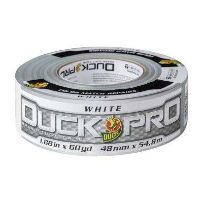 1.88 in. x 60 yds. White All-Purpose Duct Tape