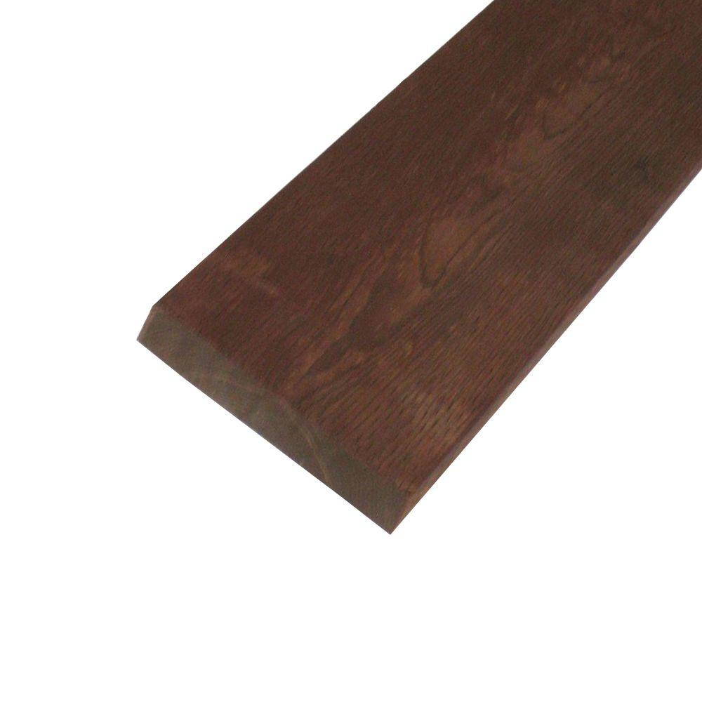 null Pressure-Treated Lumber HF Brown Stain (Common: 2 in. x 10 in. x 12 ft.; Actual: 1.5 in. x 9.25 in. 144 in.)