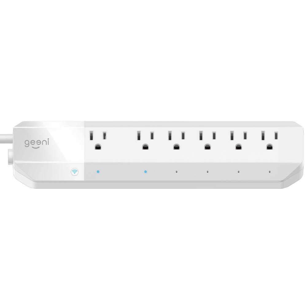 Geeni Surge 6-Outlet Smart Wi-Fi Surge Protector