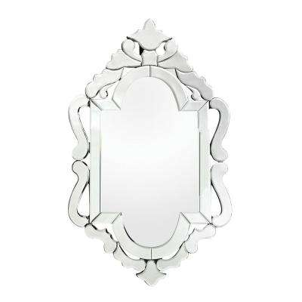 Tonbridge 36 in. x 22 in. Mirror Glass Framed Mirror