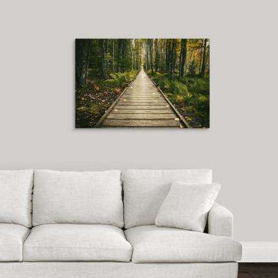 """The Wild Gardens of Acadia National Park in Maine"" by  Scott Stulberg Canvas Wall Art"