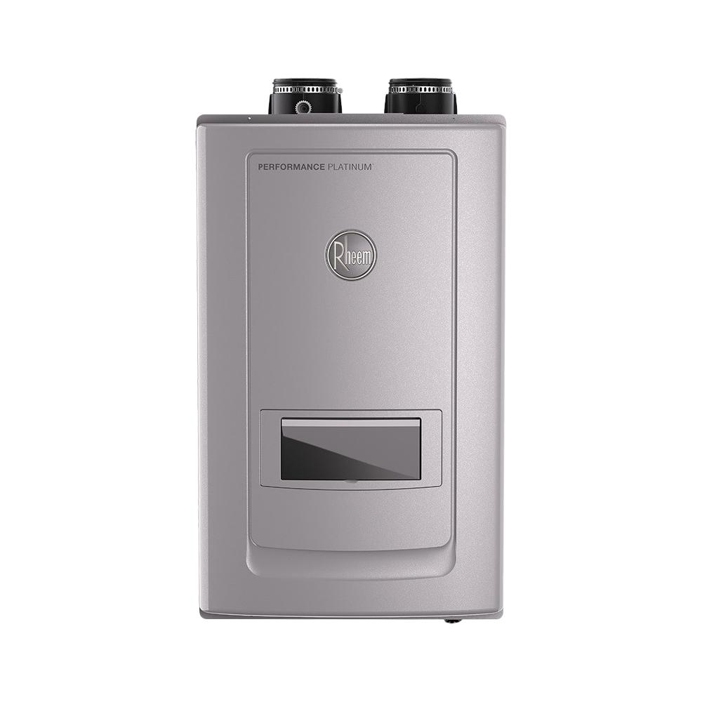 Rheem Performance Platinum 9.9 GPM Natural Gas High Efficiency Indoor Recirculating Tankless Water Heater