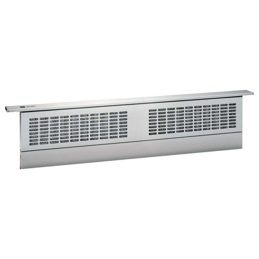 GE Profile 36 in. Telescopic Downdraft System in Stainless Steel