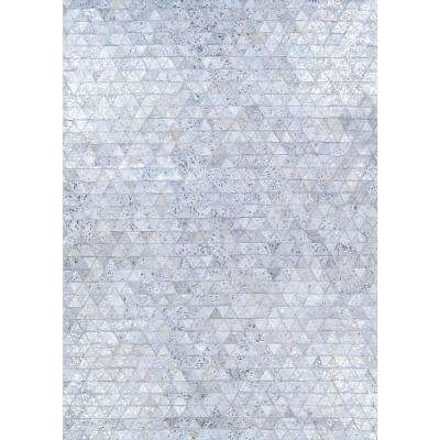 Chalet Oasis Twilight 8 ft. x 11 ft. Area Rug