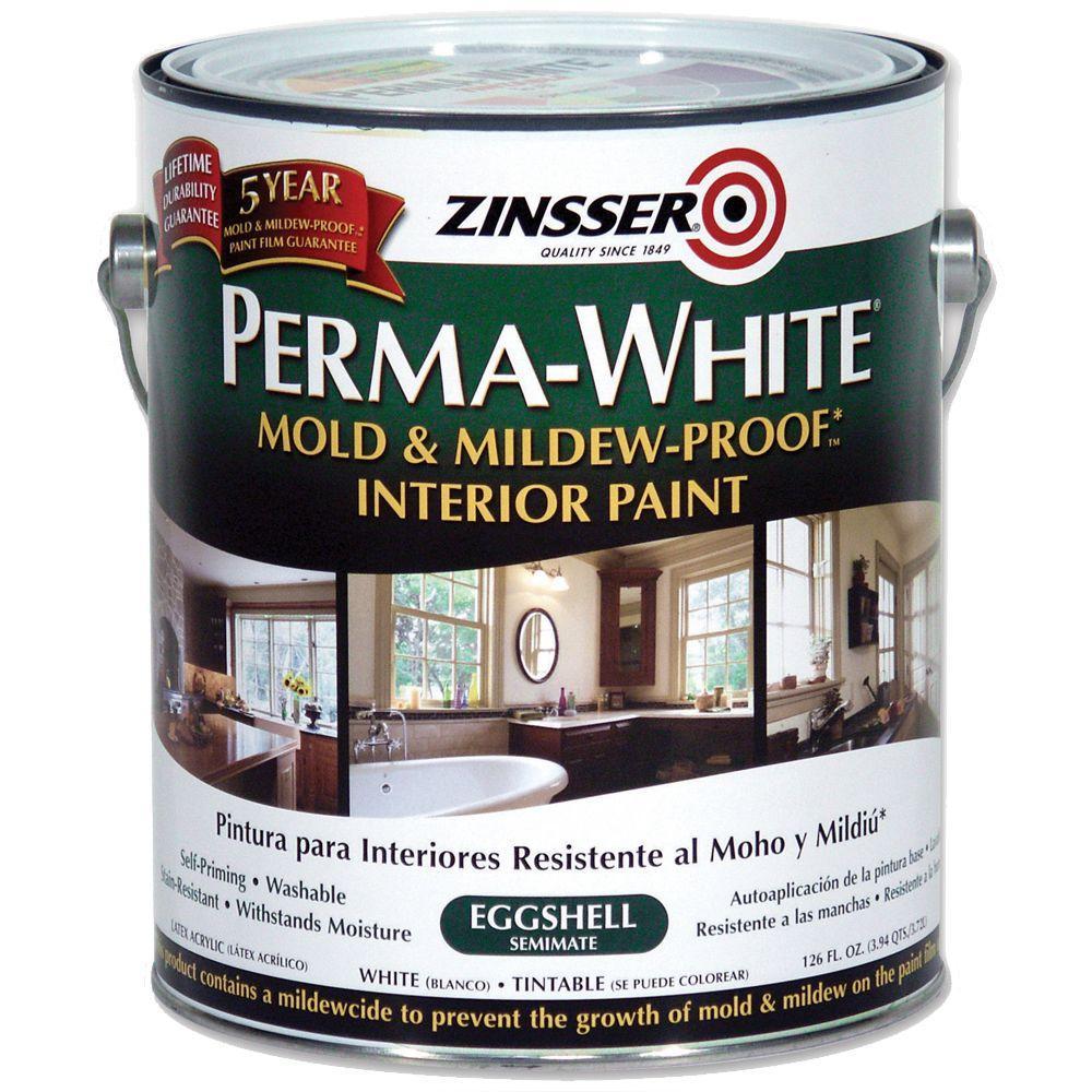 Zinsser 1-gal. Perma-White Eggshell Primer-DISCONTINUED