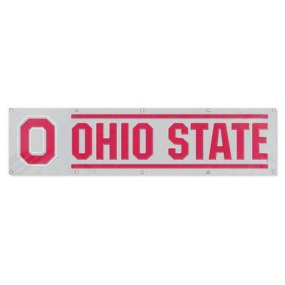 8 ft. x 2 ft. NCAA License Ohio State Team Banner