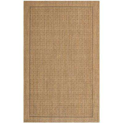 Palm Beach Natural 8 ft. x 11 ft. Area Rug