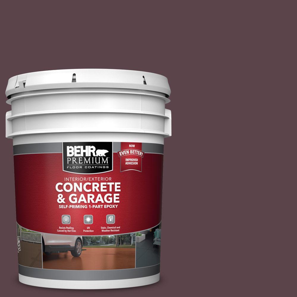 5 gal. #PFC-05 Cafe Iruna 1-Part Epoxy Satin Interior/Exterior Concrete and Garage Floor Paint