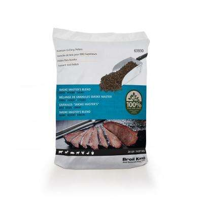 20 lbs. Smoke Master's Blend Premium Wood Pellets
