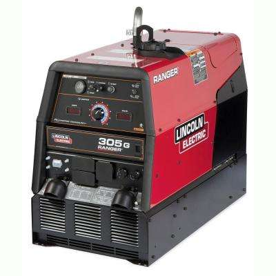 300 Amp Ranger 305 G Gas Engine Driven Multi-Process DC Welder, 10.5 kW Peak Generator (Kohler)