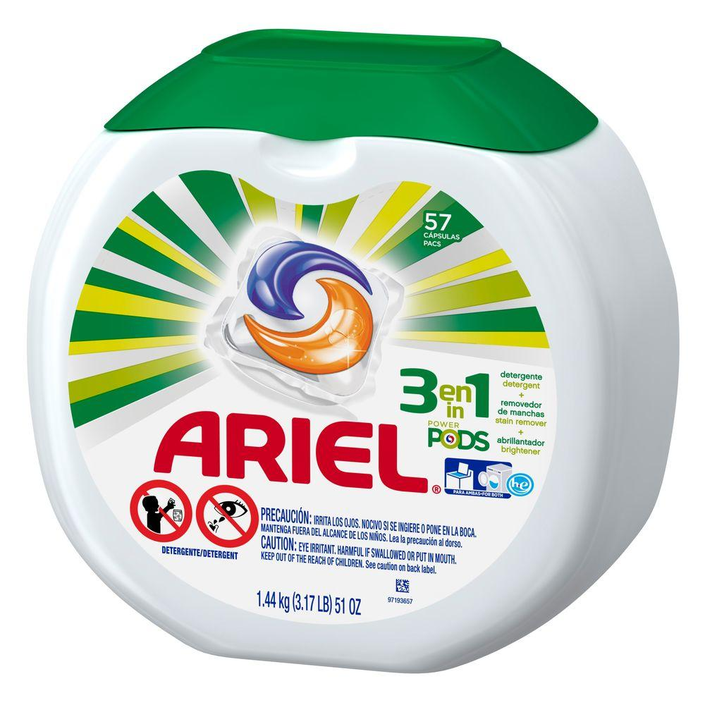 Ariel 51 oz  Unit Dose Laundry Detergent (57 Load)