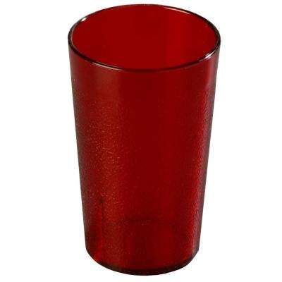 12 oz. SAN Plastic Stackable Tumbler in Ruby (Case of 72)