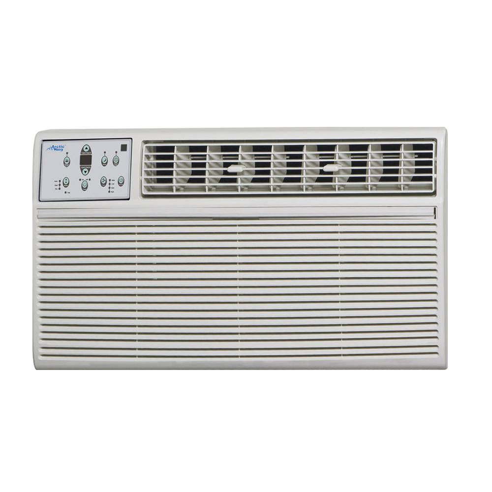 14,000 BTU 220-Volt Through-the-Wall Air Conditioner with Heat and Remote
