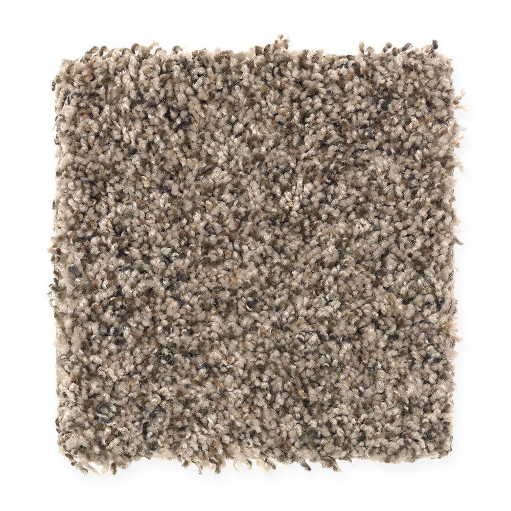San Rafael II (F2) - Color Chestnut Texture 12 ft. Carpet