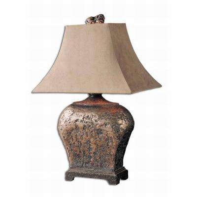 Global direct lamps lighting the home depot 27 in atlantis bronze table lamp publicscrutiny Gallery