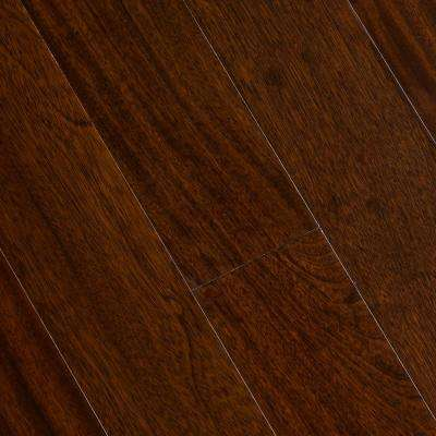 Jatoba Imperial 3/8 in. T x 5 in. W x Varying Length Click Lock Exotic Hardwood Flooring (26.25 sq. ft. / case)