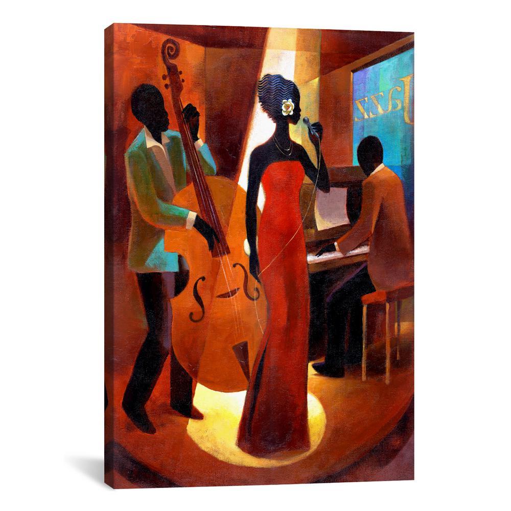 """In A Sentimental Mood"" by Keith Mallett Canvas Wall Art"