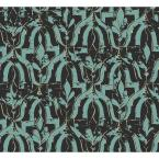 Belli Turquoise Geometric Paper Strippable Roll (Covers 74.3 sq. ft.)