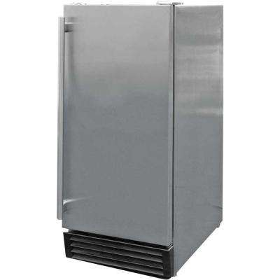 3.25 cu. ft. Built-In Outdoor Refrigerator in Stainless Steel