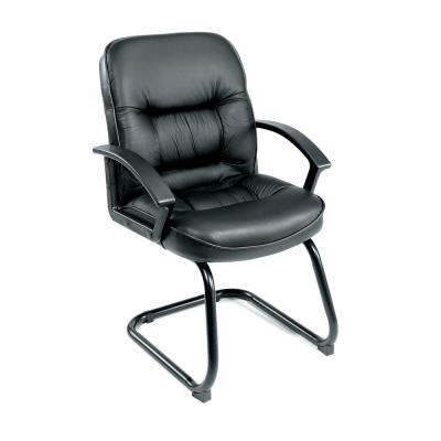 Black Mid Back LeatherPlus Guest Chair