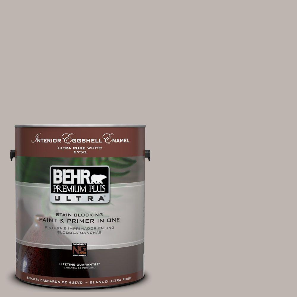 Ul260 10 Graceful Gray Eggshell Enamel Interior Paint And Primer In One