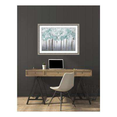 43 in. W x 32 in. H 'Into the Woods' by Marvin Pelkey Printed Framed Wall Art